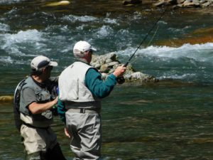FLY FISHING in French and Spanish Pyrénées