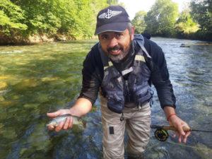 Guide pêche Pyrénées mouche